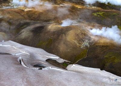 Hrafntinnusker area in the Highlands │ Iceland Landscape from