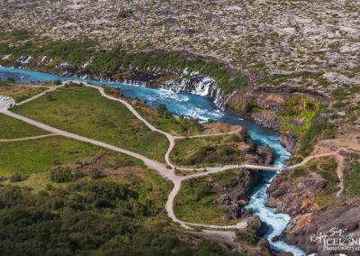 Hraunfossar waterfalls │ Iceland Landscape Photography