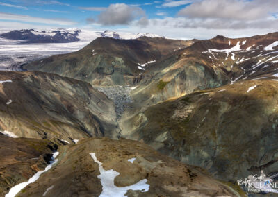 Innri-Veðurárdalur │ Iceland Landscape from Air