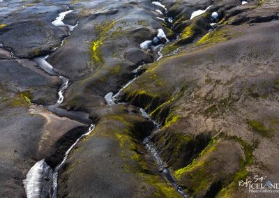 Oasis in the highlands of Glacieer Vatnajökull