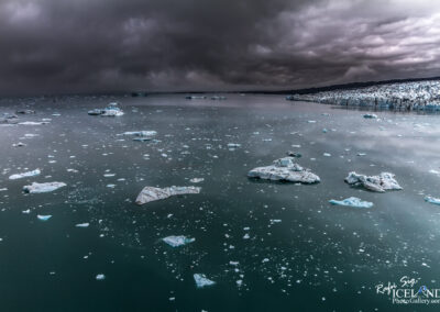 Jökulsárlón Glacier Lagoon │ Iceland Landscape from Air