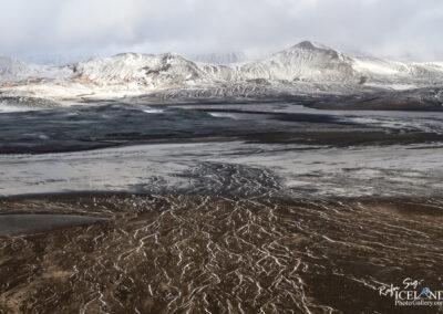 Kaldakvísl River in the highland │ Iceland Landscape from Air