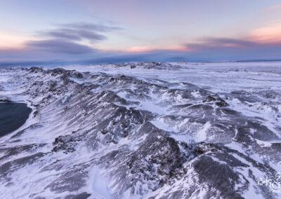 Kleifarvatn Lake and the mountain Sveifluháls │ Iceland Lands