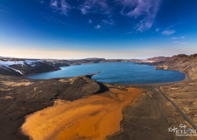 Kleifarvatn area│ Iceland Landscape from Air