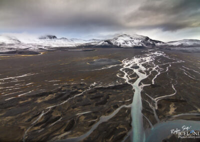 Kolufell and Svarthöfði Mountains in the Highlands │ Iceland