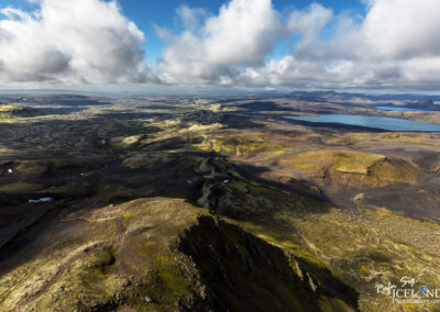Lakagígar Craters in The Highlands│ Iceland Landscape from Ai