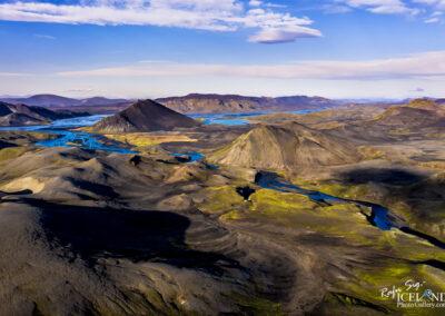 Landmannalaugar Geothermal Highlands are │ Iceland Landscape f