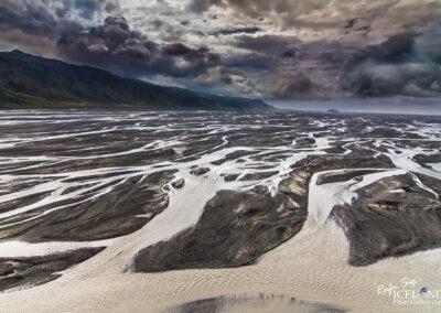 Markarfljót river │ Iceland Landscape from Air