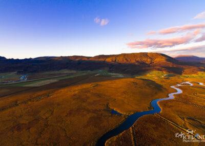 Mountain Valahnúkur at Biskupstungur in Autumn│ Iceland Lands