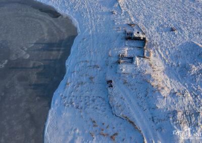 Nýibær farm ruins (26.02.2020) │ Iceland Photo Gallery