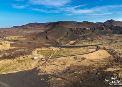Slanga Mountain at Reykjanes │ Iceland Landscape from Air