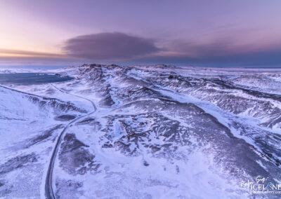 Sveifluháls Mountains at Reykjanes in winter │ Iceland Landsc