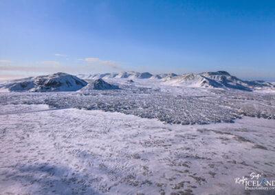 Svínahraun lave on Reykjanes │ Iceland Landscape from Air