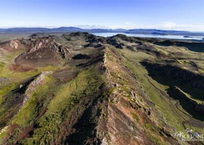 Þingvallavatn Lake from Hengill Volcano │ Iceland Landscape P
