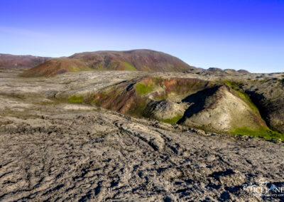 Þríhnjúkahraun Volcano area │ Iceland Landscape from Air