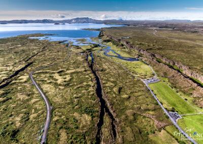Thingvellir National Park │ Iceland Landscape from Air