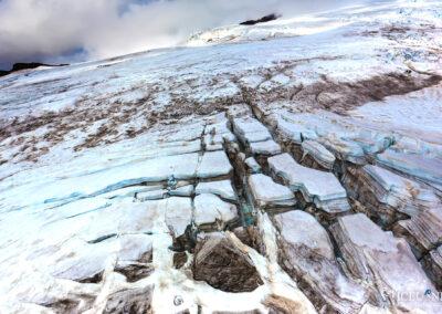 Icefall at Glacier Vatnajökull