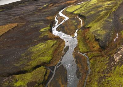 Vatnajökull National Park│ Iceland Landscape from Air