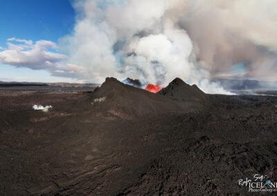 Volcanic eruption at Holuhraun │ Iceland Landscape Photography