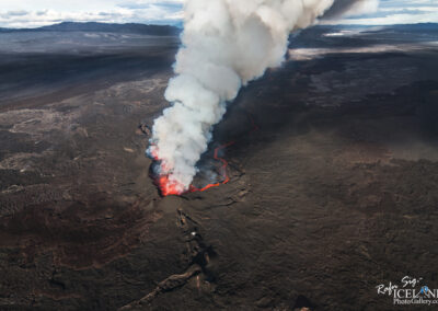 Volcanic eruption at Holuhraun Highlands │ Iceland Landscape Photography