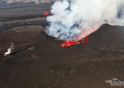 Volcanic eruption at Holuhraun Highlands