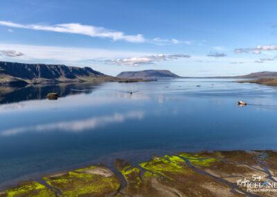 Whale boats in Hvalfjörður Bay │ Iceland Landscape from Air