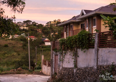 Sunset in Baguio city - Philippines
