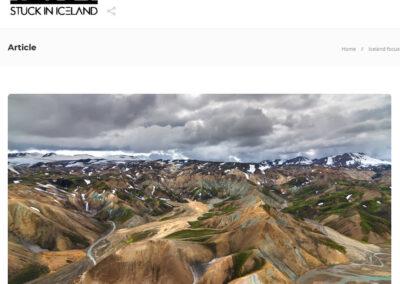 "Interview with Rafn in ""Stuck in Iceland"" Magazine 2021"