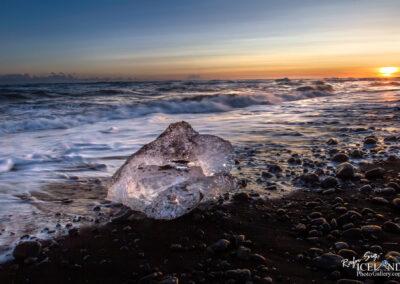 Jökulsárlón beach │ Iceland Photo Gallery