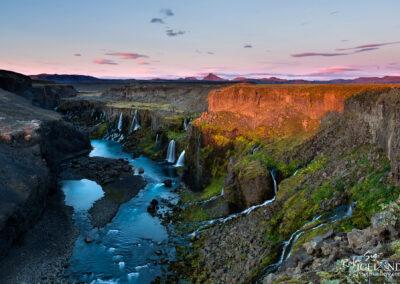 Fögrufossar Waterfalls │ Iceland Photo Gallery